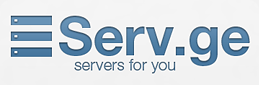 Identity and website for the Serv.ge hosting company