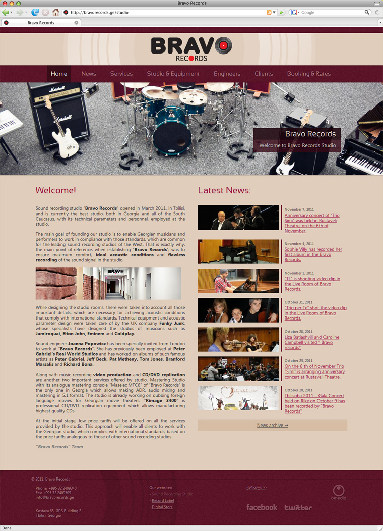 bravo records - homepage